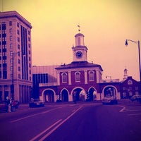 Photo taken at Downtown Fayetteville by Arin on 2/7/2013