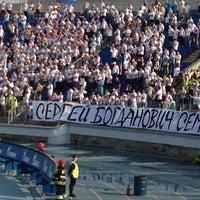 Photo taken at Стадион «Петровский» by ЗЫбин Л. on 5/19/2013