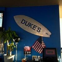 Photo taken at Duke's Restaurant by Cullen F. on 3/28/2013