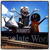 Photo taken at Hershey's Chocolate World by Tony K. on 4/2/2013