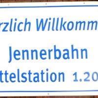 Photo taken at Jennerbahn Mittelstation 1200 m by Oleg A. on 1/29/2014