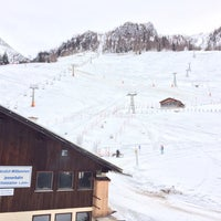Photo taken at Jennerbahn Mittelstation 1200 m by Oleg A. on 1/31/2014