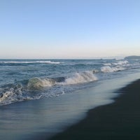 Photo taken at Pacific Ocean by Lex L. on 7/5/2014