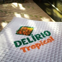 Photo taken at Delírio Tropical by Lívia on 10/25/2012