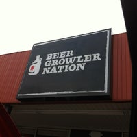 Photo taken at Beer Growler Nation by Chris N. on 12/8/2012
