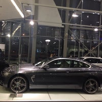 Photo taken at BMW АВТОDOM by Daria on 2/8/2014