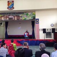 Photo taken at SMK Bandaraya (SMK Menggatal) by Ong on 10/12/2013