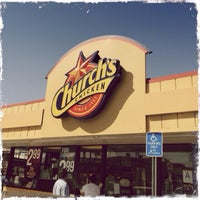 Photo taken at Church's Chicken by Edωïи on 3/18/2014