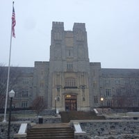 Photo taken at Burruss Hall by Michael on 2/2/2013