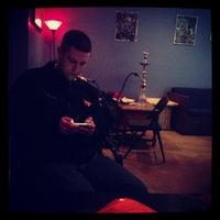 Photo taken at She-Sha Café & Hookah Lounge by Michael on 2/2/2013