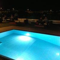 Photo taken at Grand Resort Lagonissi by John K. on 7/2/2013