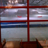 Photo taken at Le Châlet - Restaurant Snowhall by raxo d. on 4/13/2014