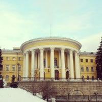 Photo taken at МЦКМ «Жовтневий Палац» by Chufella M. on 2/21/2013