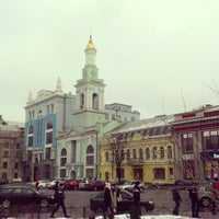 Снимок сделан в Контрактовая площадь пользователем Chufella M. 2/3/2013