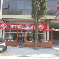 Photo taken at Etiler Marmaris by Tayguunn U. on 11/10/2013