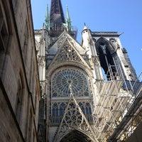 Photo prise au Cathédrale Notre-Dame de Rouen par Anya le6/6/2013