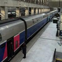 Photo taken at Aéroport Charles de Gaulle TGV Railway Station by Niklas H. on 3/25/2013