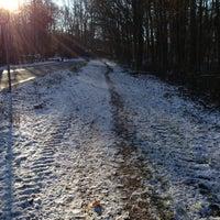 Photo taken at Waldfriedhof Hoheleye by Matti P. on 12/8/2012