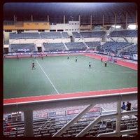 Photo taken at Stadium Hoki Nasional by Qiu A. on 10/4/2012