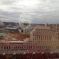 Photo taken at Hilton Boston Back Bay by Elizabeth on 11/2/2012