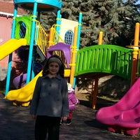 Photo taken at Şehit Fethi Parkı by Celil S. on 12/15/2013