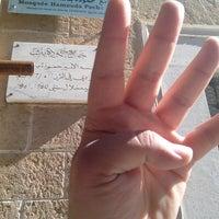 Photo taken at Mosquée Hammouda-Pacha by Mourad B. on 2/16/2014