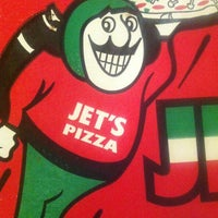 Photo taken at Jet's Pizza by Cinthya on 1/26/2013