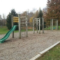 Photo taken at Woodsdale Meadows Playground by Brett F. on 11/10/2012