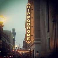 Photo taken at The Hippodrome Theatre at the France-Merrick Performing Arts Center by Bmorefrench on 4/10/2013