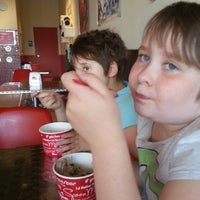 Photo taken at Spoon Me Frozen Yogurt and Juices by Crystal F. on 9/20/2013