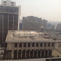 Photo taken at Torre De Tribunales by Agustin O. on 4/17/2013