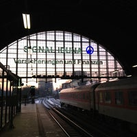 Photo taken at Bahnhof Hamburg Dammtor by Markus R. on 12/7/2012