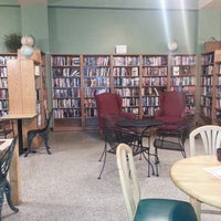 Photo taken at The Attic Books & Coffee by Micaela Catherine M. on 4/14/2013