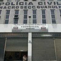 Photo taken at 4 Distrito policial de guarulhos by Alexandre O. on 8/14/2013