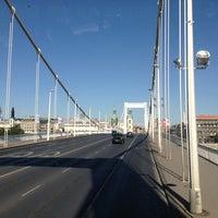 Photo taken at Elisabeth Bridge by Dima B. on 8/5/2013