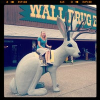 Photo taken at Wall Drug by Chris J. on 5/26/2013