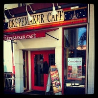 Photo taken at The Crepe Maker by Monica Lynne H. on 9/17/2012