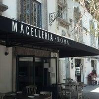 12/3/2012 tarihinde Olliver V.ziyaretçi tarafından Macelleria Roma'de çekilen fotoğraf
