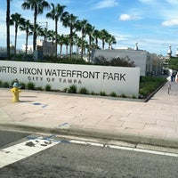 Photo taken at Curtis Hixon Waterfront Park by Debbie F. on 9/15/2012