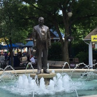 Photo taken at Milton S. Hershey Statue & Fountain by Jace736 on 6/26/2016