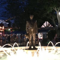 Photo taken at Milton S. Hershey Statue & Fountain by Jace736 on 7/24/2016