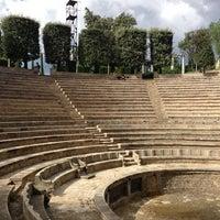 Photo taken at Teatre Grec by Gerson Luiz M. on 9/30/2012