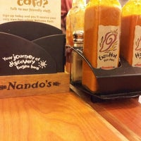 Photo taken at Nando's by Pian S. on 11/1/2012