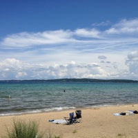 Photo taken at West Arm Grand Traverse Bay by Kim on 6/28/2013