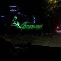 Photo taken at Amansari Residence Resort by Weeda D. on 11/2/2012