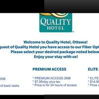 Photo taken at Quality Hotel Downtown Ottawa by Sean L. on 1/11/2014