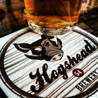 Photo taken at Hogshead Brewery by Nicholas W. on 7/13/2013
