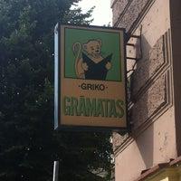 Photo taken at Griko Grāmatas by Polina O. on 8/6/2013