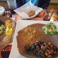 Photo taken at Habesha Restaurant and Bar by Jon C. on 4/29/2017