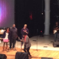 Photo taken at Impact Church [Brown Middle School] by Yoshi H. on 12/2/2012